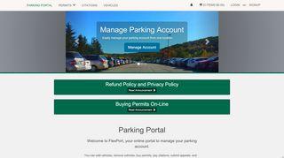 Binghamton Parking Portal