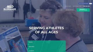 Bluegrass Orthopedics Patient Portal