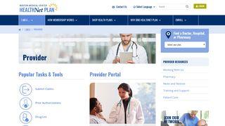 Bmc Provider Portal