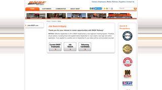Bnsf Applicant Portal
