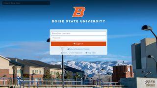 Boise State Portal