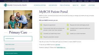 Boulder Creek Family Medicine Patient Portal