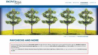 Boyd Gaming Employee Portal