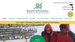 Boyette Orthopedics Patient Portal