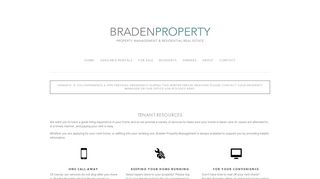 Braden Property Portal