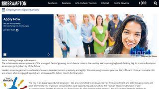 Brampton Employee Portal