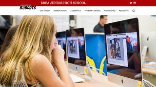 Brea Junior High Parent Portal