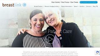 Breastlink Patient Portal