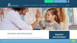 Brehm Medical Patient Portal