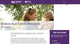 Bristow Run Family Practice Patient Portal