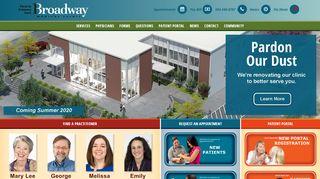 Broadway Medical Clinic Patient Portal