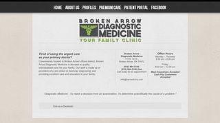 Broken Arrow Diagnostic Medicine Patient Portal
