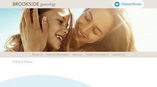 Brookside Gynecology Patient Portal