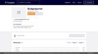 Budget Portal Co Uk