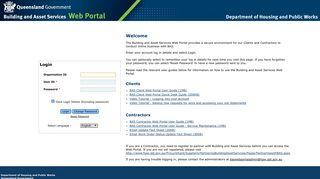 Building And Asset Services Web Portal