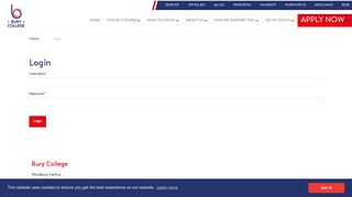 Bury College Portal