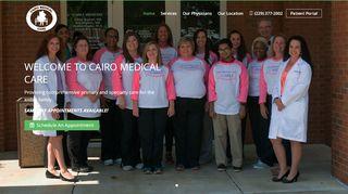 Cairo Medical Care Patient Portal