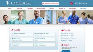 Cambridge Student Portal