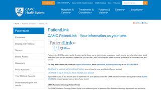 Camc Patient Portal