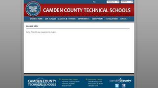 Camden County Technical School Student Portal