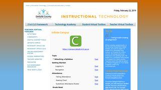 Campus Portal Dekalb