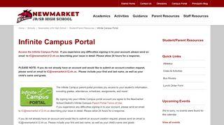 Campus Portal Newmarket Nh