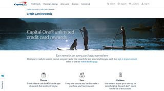 Capital One Travel Portal