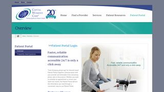 Capital Region Women's Care Patient Portal