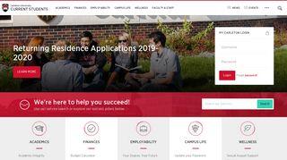 Carleton Student Portal