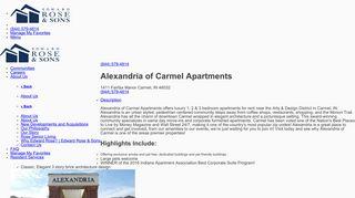 Carmel Alexandria Resident Portal
