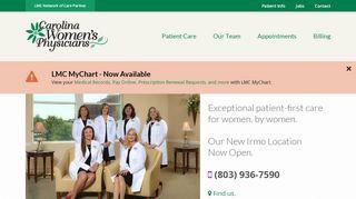 Carolina Women's Physicians Patient Portal