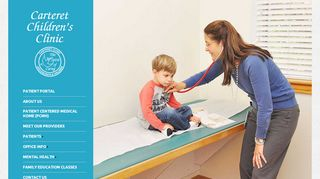 Carteret Children's Clinic Patient Portal