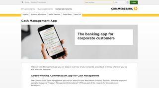 Cash Management Portal