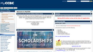 Ccbc Student Portal