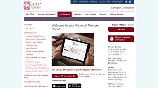 Cchp Member Portal