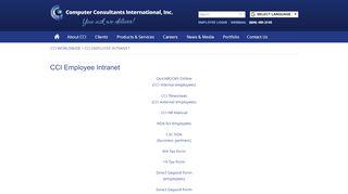 Cci Employee Portal