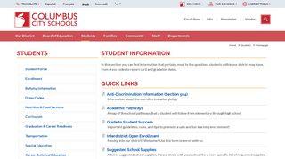 Ccs Student Portal