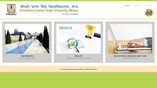 Ccs University Portal