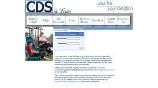 Cds In Texas Employee Portal