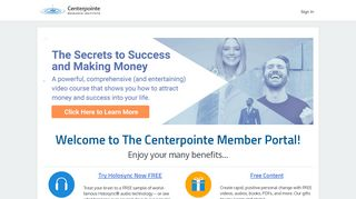 Centerpointe Member Portal