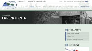 Central Montana Medical Center Patient Portal