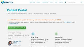 Central Ohio Physicians Patient Portal