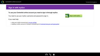 Centrelink Portal