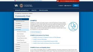 Champva Provider Portal