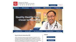 Charles B Wang Patient Portal