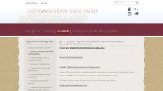 Cheektowaga Central Student Portal
