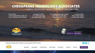 Chesapeake Neurology Patient Portal