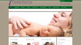 Chesapeake Women's Care Patient Portal