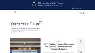 Chung Ang University Portal