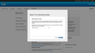 Citibank Payment Portal